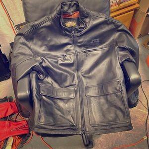 Harley riding jacket.